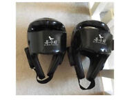 Black eagle head guards X2