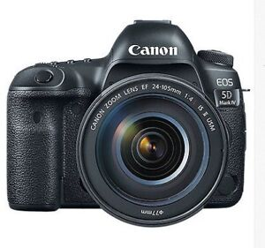 Great Canon EOS 5D Mark IV Full Frame Digital SLR Camera with EF
