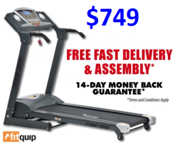 HAVE YOUR NEW TREADMILL INSTALLED TODAY! FOR ONLY $13 PER WEEK*