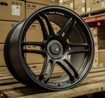 "18"" Koya sf01 wheels semi forged jdm holden ford jap audi bmw"