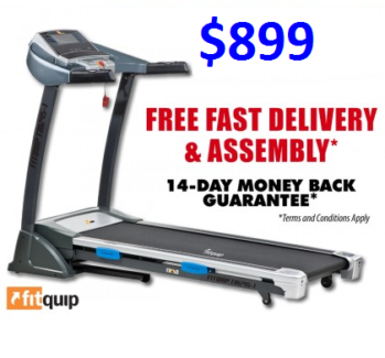 HAVE YOUR NEW TREADMILL INSTALLED TODAY! FOR ONLY $16 PER WEEK*