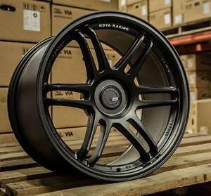 18 Inch Koya SF01 Racing Wheel Package - Toyota 86 Subaru BRZ Aggressive Stance