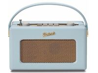 Roberts Revival RD60 DAB radio - Brand New and boxed - Never used - Navy and Duck Egg available