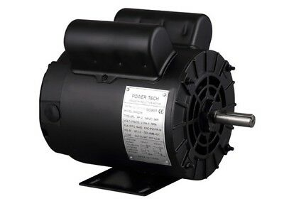 Electric Air Compressor Motor 2hp Spl 3450rpm 115208-230v 1 Phase 58 Shaft