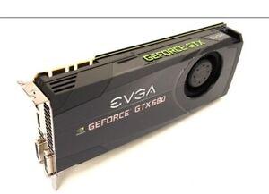 Nvidia - GTX 680 EVGA - 2GB RAM - 80$