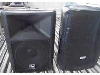 EV SX 300 Speakers