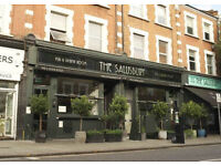 Waiting Staff needed for newly refurbished & long established gastro Pub Queens Park London NW6 6NN