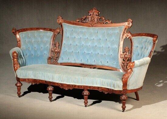 John Jelliff Renaissance Revival Sofa