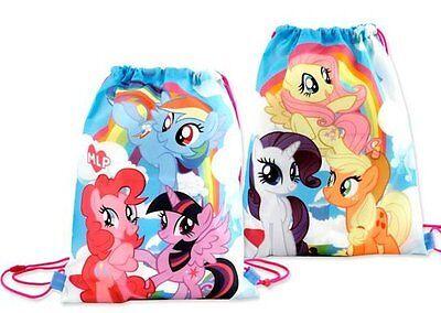 My Little Pony Taschen (MY LITTLE PONY PFERD EINHORN TASCHE SPORTTASCHE TURNBEUTEL RUCKSACK NEU)