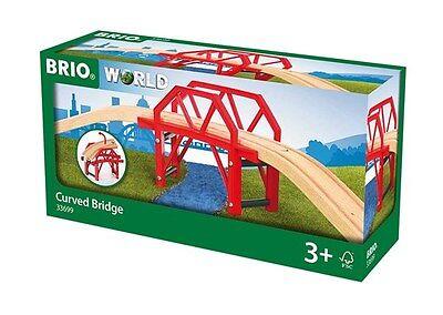 Brio Railway 33699 Bahnbrücke mit Auffahrten Brücke Neu & OVP