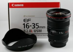 Canon 16-35mm f2.8 w/ packaging