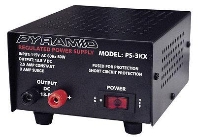 New Pyramid PS3KX 2.5 Amp Power Supply