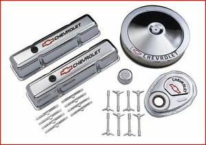 Street Performance Chrome Deluxe Dress up Kit Chevy SB