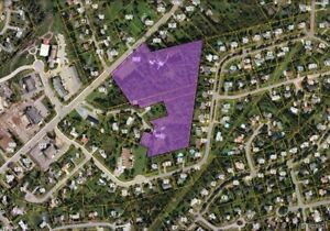 10 acres zoned residential in Quispamsis