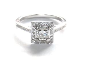 18ct White Gold Princess 0.50 Carat Centre Diamond Dress Ring Bronte Eastern Suburbs Preview