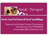 Fabulous Facials and Fantastic Foot Massages at your home!
