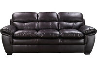 New Modern Leather Sofa (Can Deliver)