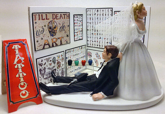 tattoo wedding cake toppers top 10 wedding cake toppers ebay 20765