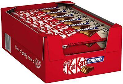 Yorkie, Yorkie raisin, Aero, Kit Kat chunky, Toffee Crisp Box of 24 Chocolate