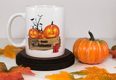 Halloween Jack O Lanterns Ideas (Jack O'Lantern Happy Halloween Coffee Mug, Scary Pumpkin Halloween Gift)