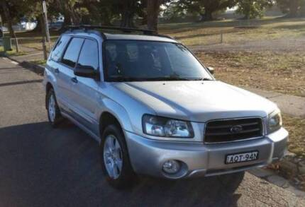 Inspected 2004 SUBARU FORESTER XS LUXURY (AWD) AUTOMATIC