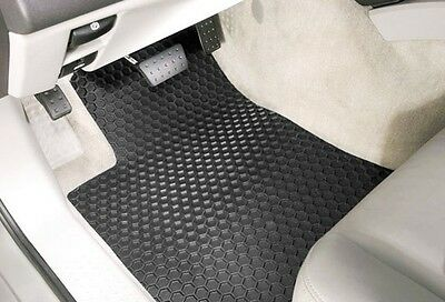 4 Piece Set   Hexomat   All Weather Heavy Duty Floor Mats   Custom   Pontiac