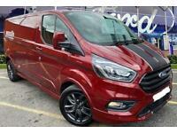 2021 Ford Transit Custom 2.0 EcoBlue 185ps Low Roof Sport Van Auto Van Diesel A