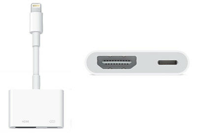 Apple Lightning to Digital AV / HDMI / HDTV Adapter for iPad Air 2 / mini 3