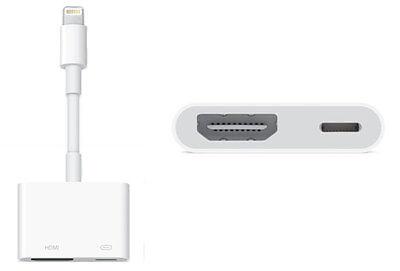 Apple Lightning to Digital AV / HDMI / HDTV Adapter for iPad Air 2 / mini 3