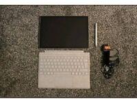 Microsoft Surface Pro - 128GB - 4GB Ram Platinum Bundle - Pen - Keyboard -Tablet