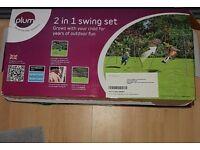 Plum swing set 2 in 1used.