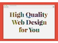 Experienced Web Designer at your service. High Quality Websites.