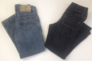 2 pair jeans, Polo and WRG, size 5