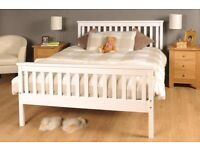Solid wooden double beds brand new