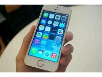 IPhone 5s rose gold 16 gig ee network