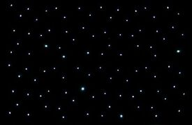 Led star cloth 3x2