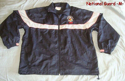 NATIONAL GUARD Paratus Preliator RSP Size M Mesh Lined Windbreaker Nylon Jacket