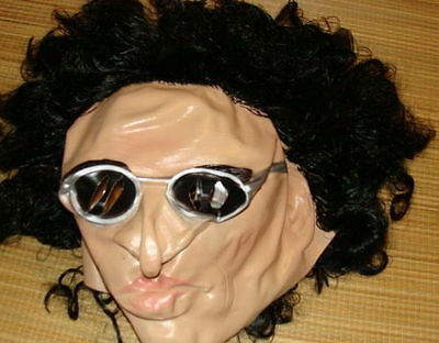 Howard Stern Mask Costume Adult One Size Radio DJ Rare Halloween Rubber  - Howard Halloween