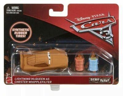 Disney Pixar Cars 3 Demo Derby Diecast Lightning Mcqueen Chester Whipplefilter
