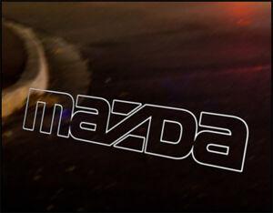 Mazda Logo Jdm Decal Vinyl Sticker Mx5 Miata Eunos Ebay