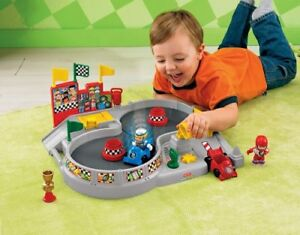 Fisher-Price Little People Spin 'n' Crash Raceway