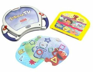 FP InteracTV DVD Based Learning System Console & 5 Games / DVD's
