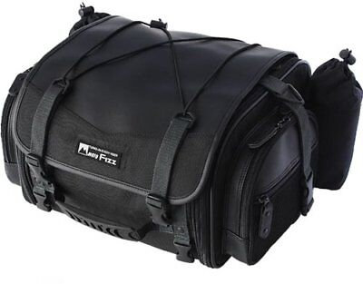TANAX MotoFizz Mini Field Black MFK-100 Motorcycle Seat Bag for Touring Carry