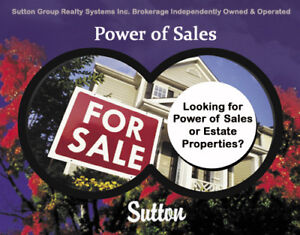 Looking for a Fixer Upper or a Power of Sale?