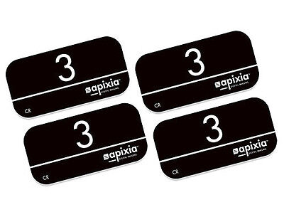 Apixia Psp Phosphor Plates - Size 3 - Works With The Scanx Psp Scanner