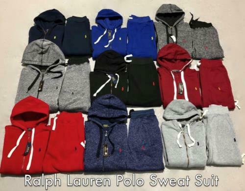 Polo Ralph Lauren Sweatsuit Brand New for Men Full Zip Jacket & Sweat Pants