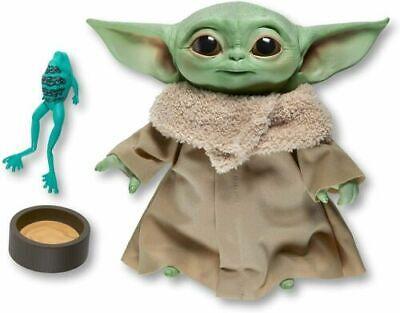 "The Mandalorian The Child 7"" Talking Plush HASBRO Star Wars Baby Yoda IN HAND"
