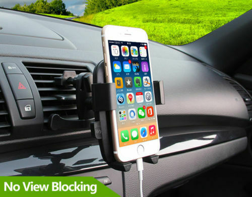Universal Rotate Car Mount Holder Stand Air Vent Cradle For Mobile Cell Phone Cell Phone Accessories