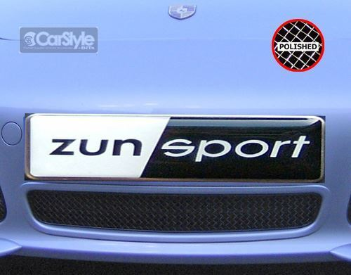 ZunSport Porsche Boxster  987.1 Man 04-08 Polished Steel Centre Grille ( S only)
