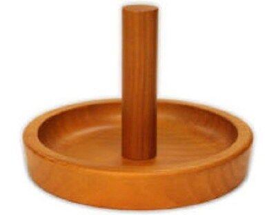 Deluxe H.J. Scott OAK FINISH Pool Table Hand Chalk Cone Talc Bowl Holder, used for sale  Pocatello